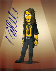 Russell Brand signed 10x8 phot.
