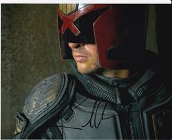 Karl Urban Signed Judge Dredd 10x8 Photo