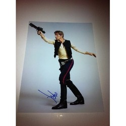 Harrison Ford AUTOGRAPH Star Wars SIGNED IN PERSON 16x12 Photo