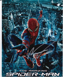 Andrew Garfield Signed The Amazing Spider-man 10x8 Photo