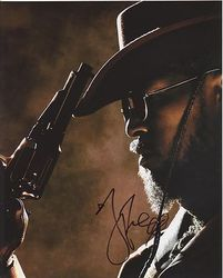 Jamie Foxx Autograph Django Unchained signed in person 10x8 photo