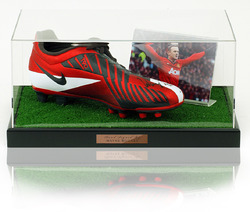 Wayne Rooney Hand Signed Football Boot Manchester United