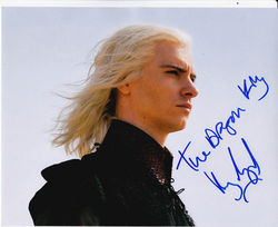 Harry Lloyd Signed Game Of Thrones 10x8 Photo