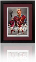 "Julian Dicks hand signed 16x12"" West Ham Montage."