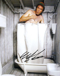 Will Ferrell signed 10x8 photo.