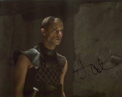 Jacob Anderson AUTOGRAPH Game Of Thrones SIGNED IN PERSON 10x8 photo