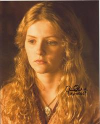 "Aimee Richardson autograph signed on a 10x8"" photo as Myrcella Baratheon in Game Of Thrones  This photo was signed in person at the Wales Comic Con 27th April 2014  www.in2flicks.com"
