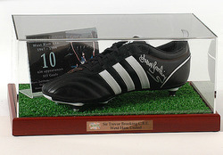 Trevor Brooking Hand Signed Football Boot