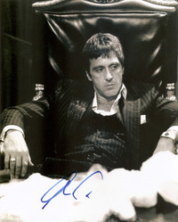 Al Pacino signed 10x8 photo