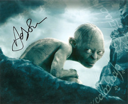 Andy Serkis signed 10x8 photo