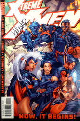 Marvel, X-treme X-men #1 signed by Salvador Larroca