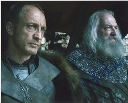 Michael McElhatton Autograph Game Of Thrones signed in person 10x8 photo