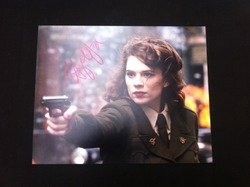 Hayley Atwell Signed Captain America 10x8 Photo