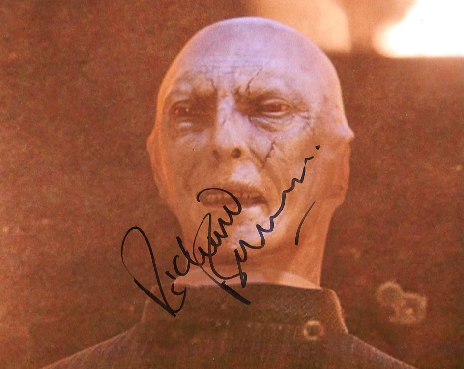 Richard Bremmer AUTOGRAPH Harry Potter SIGNED IN PERSON ...