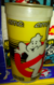 Hardees Ghostbusters 2 Plastic Cup (Yellow)