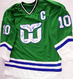 1985-86 Hartford Whalers Team Signed Jersey & Video proof