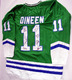 1985-86 Hartford Whalers Team Signed Jersey & Video PSA LOA