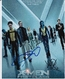 X-Men First Class Poster Shot 10x8 Photo Signed by 3