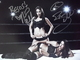 Bella, Nikki & Brie - authentic autograph - Wrestling Girls
