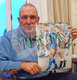 Iconic Paul Gascoigne 16x12 photograph hand signed by Vinnie Jones Wimbledon