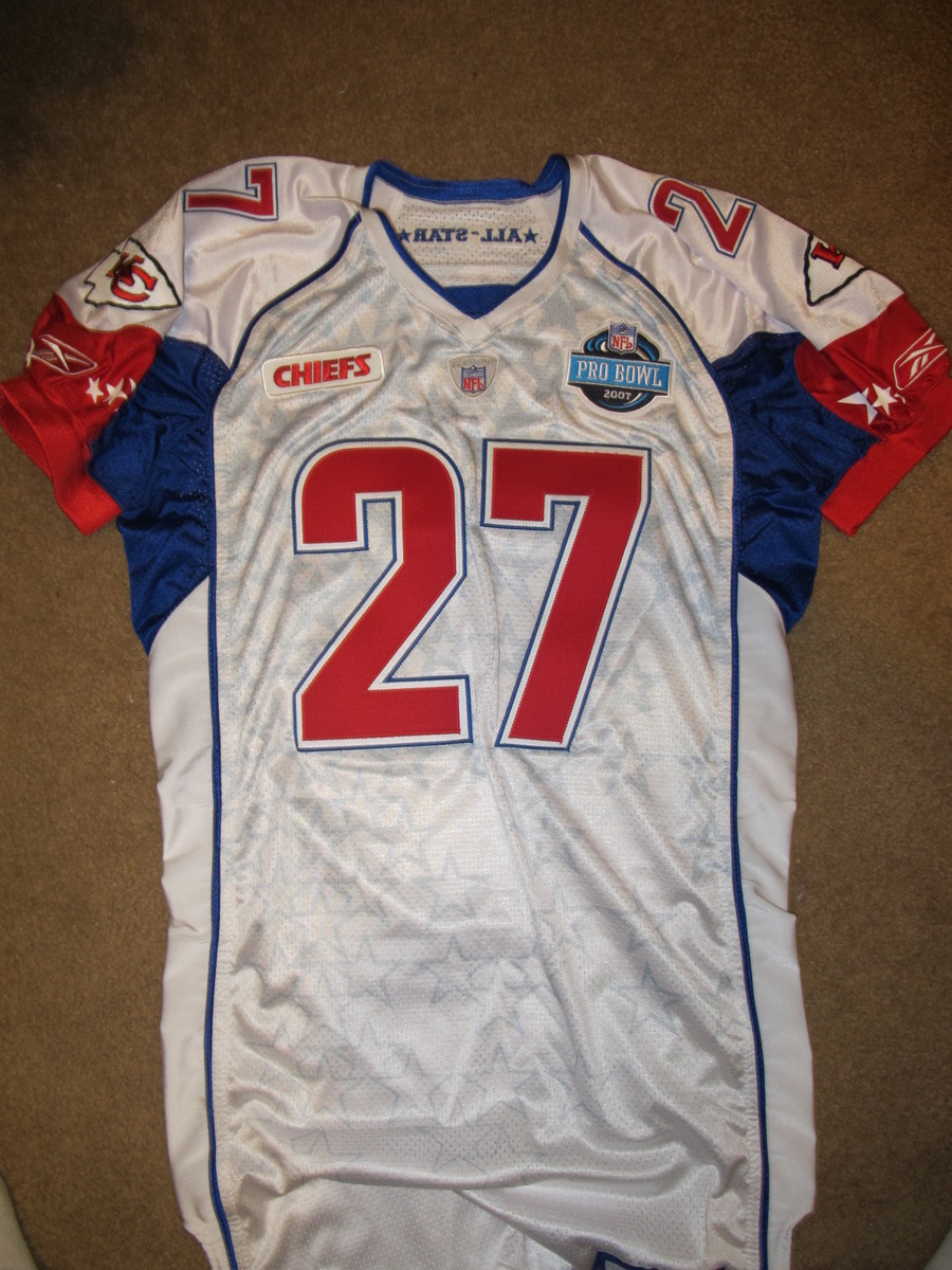 detailed look fe5dc caad7 Larry Johnson 2007 Pro Bowl Player Issued Jersey - 2R3-YYM ...
