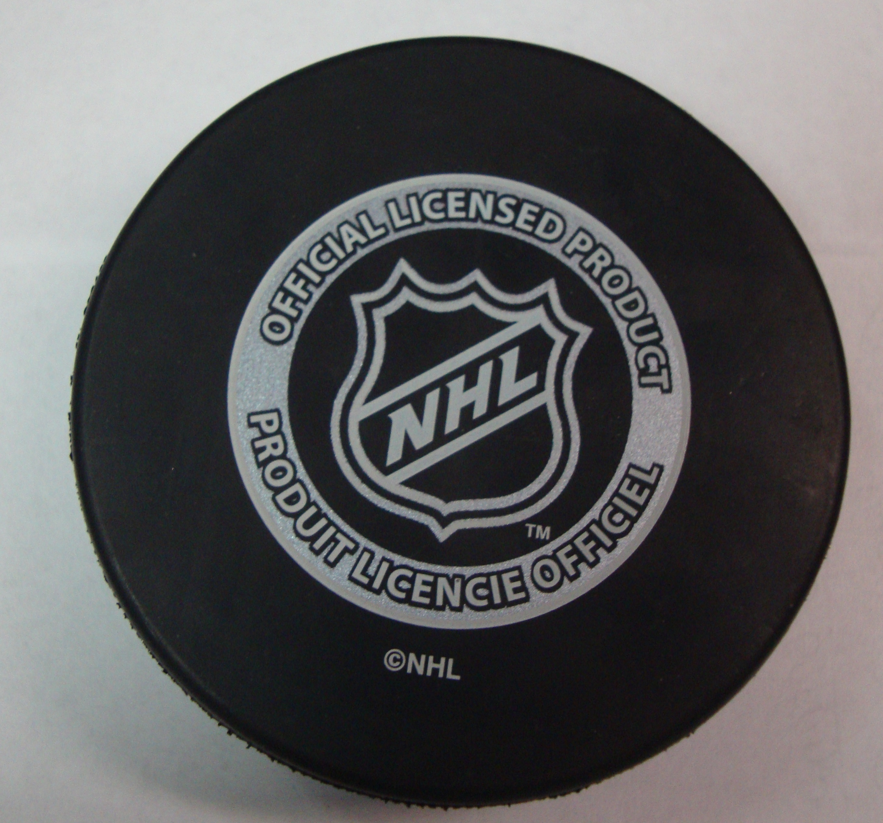 Sherwood - In Glas Co New Jersey Devils Basic NHL Puck